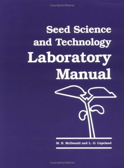 Seed science and technology laboratory manual thumbnail