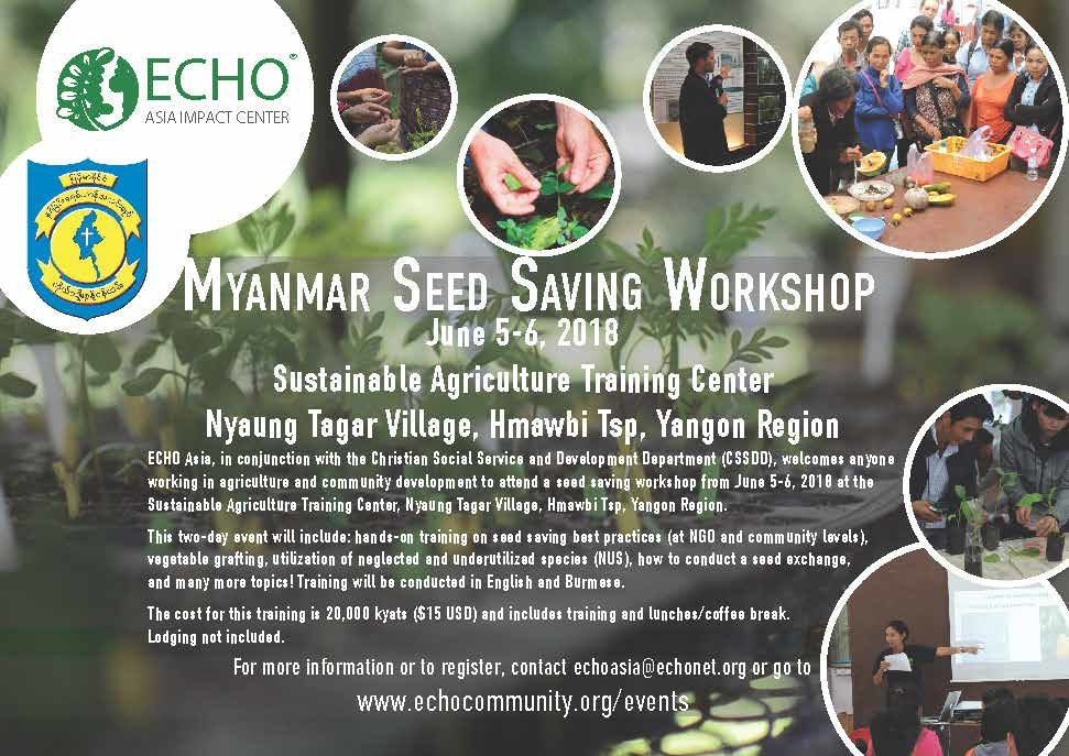 Myanmar Seed Saving June2018