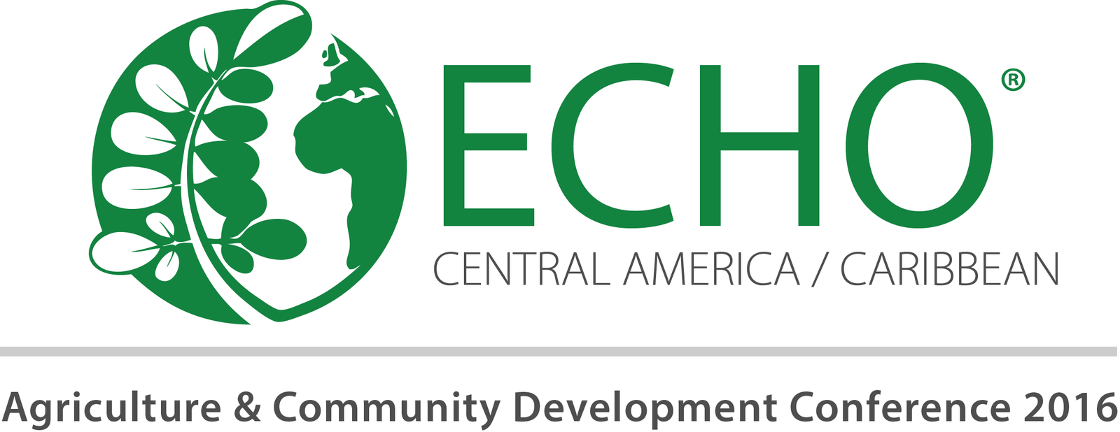 Central America / Caribbean Agriculture & Community Development Conference Logo 2016