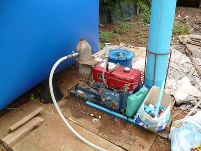 Running a Diesel Engine on Biogas | ECHOcommunity org