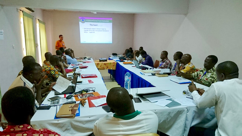 In the network now: West African trainers meet for Foundations for Farming Training