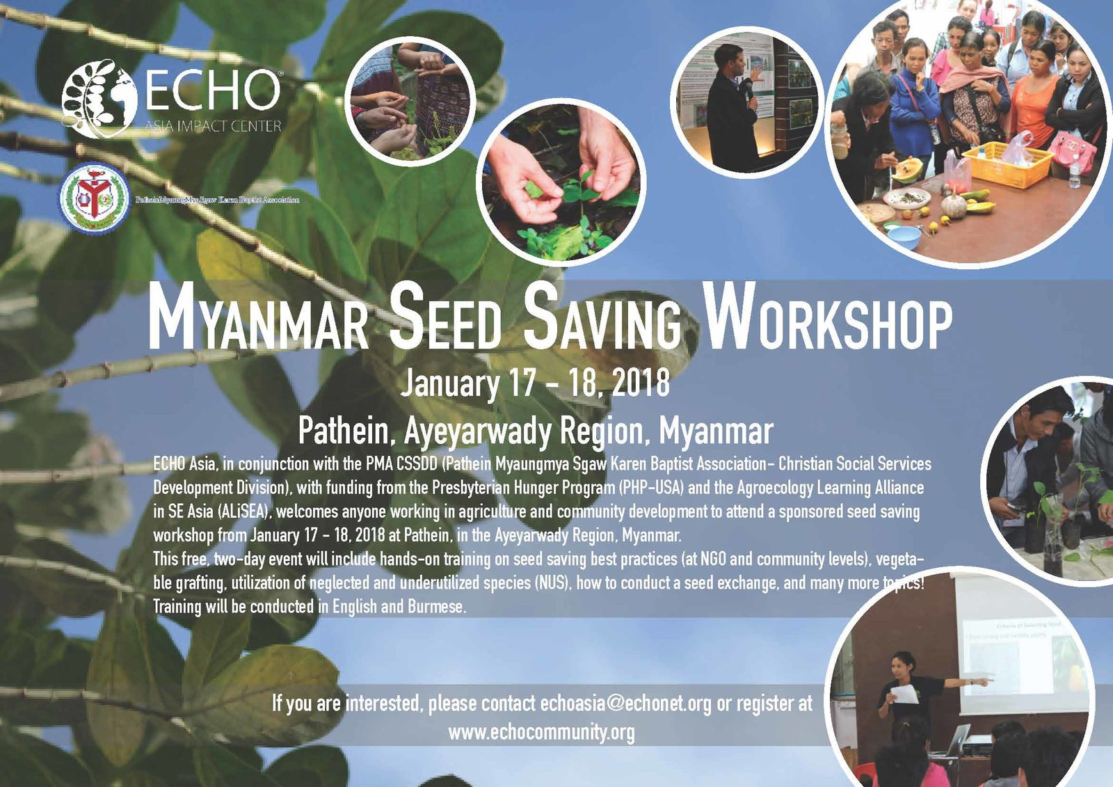 Myanmar Seed Saving Workshop