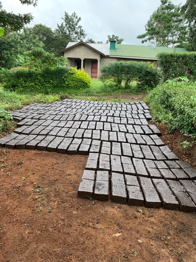 Apaikunda's son, Noel's brick making business