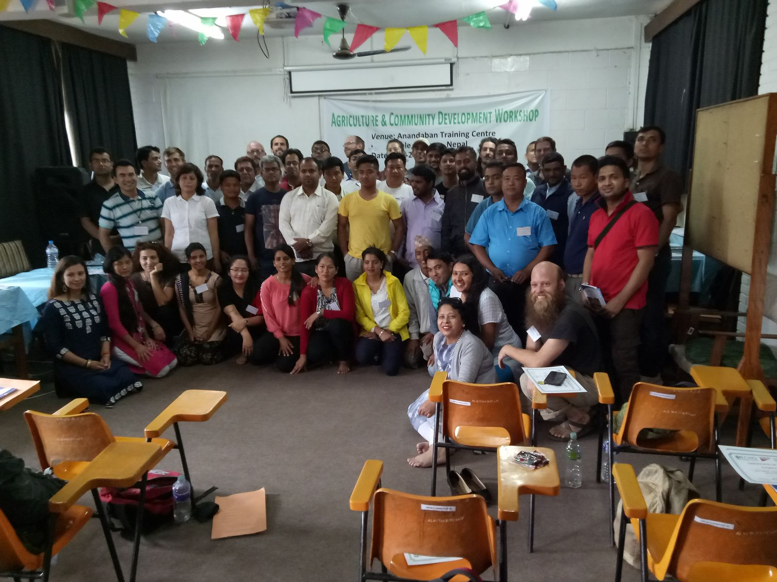 Nepal agriculture and community development workshop 2017 group photo lg