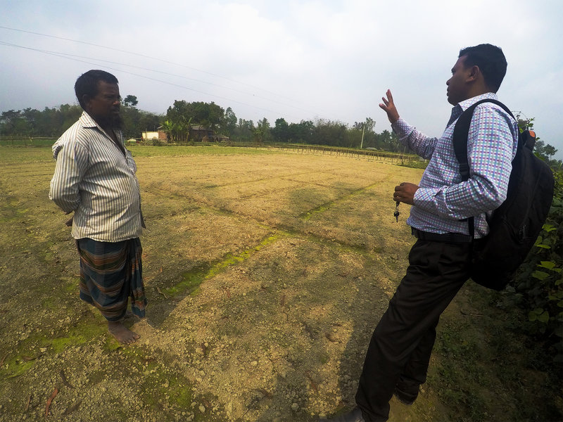 A Snapshot from Bangladesh: Building Farmer-Extension Relationships