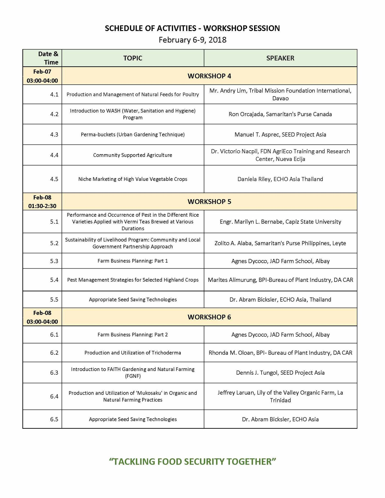 2018 AP Conference Program_Page 3