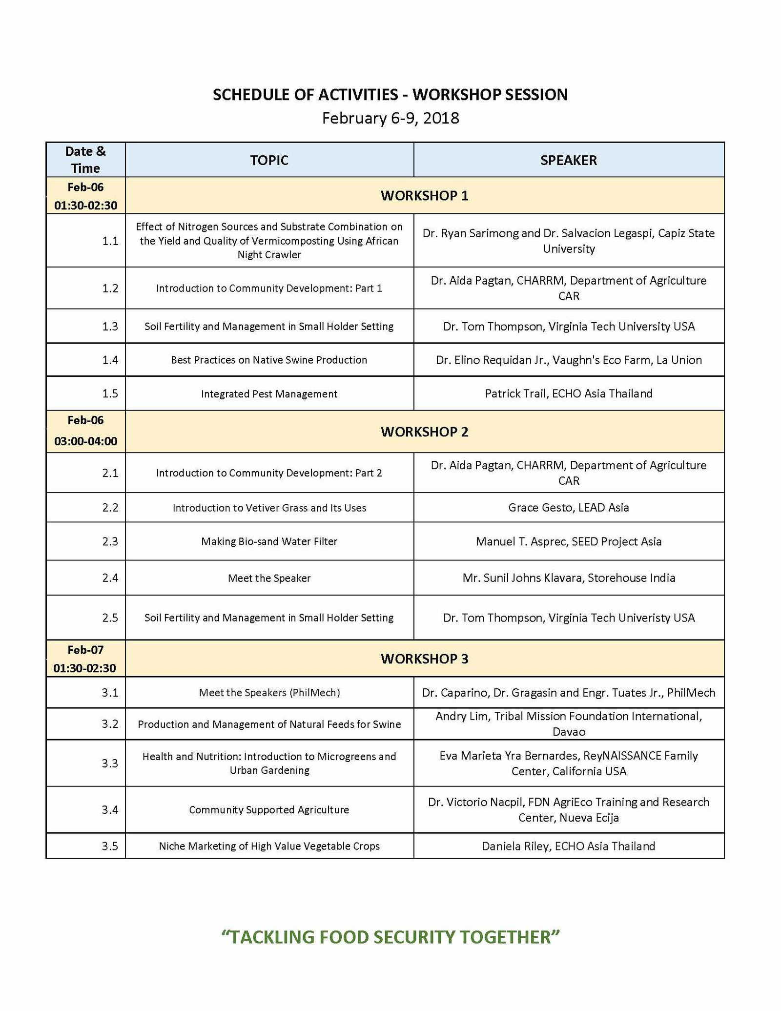 2018 AP Conference Program_Page 2