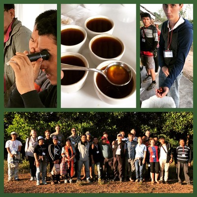 2016 Coffee Processing Camp day 3
