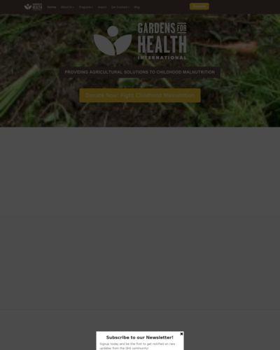 gardens for health international