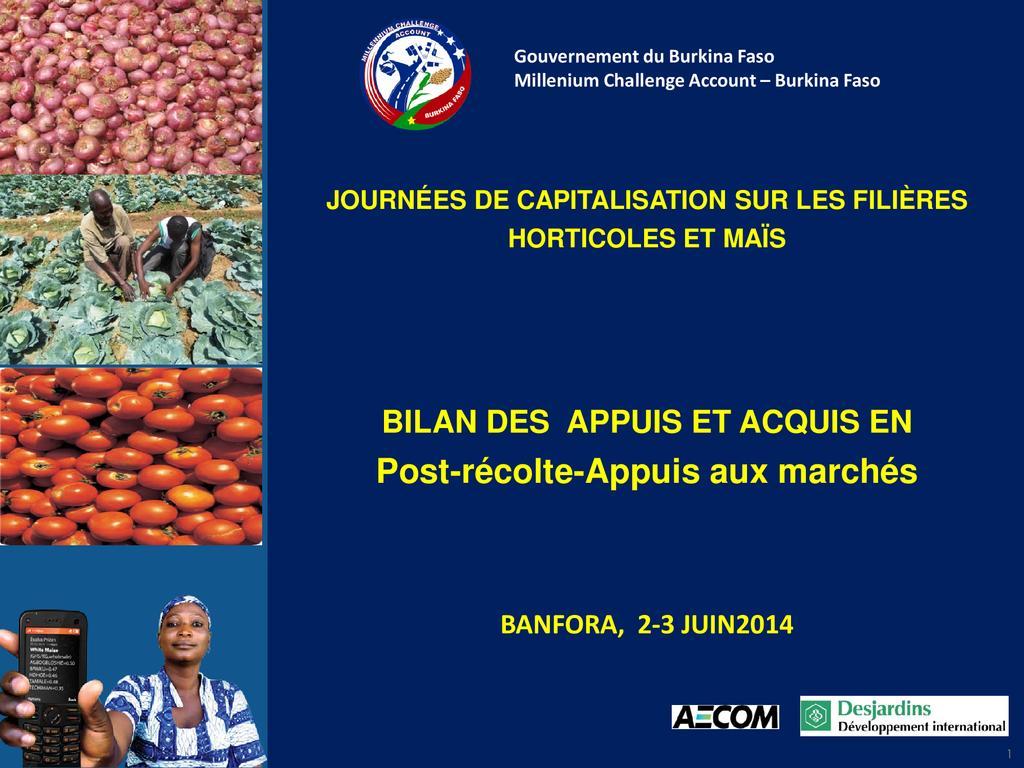 Conservation des produits agricoles