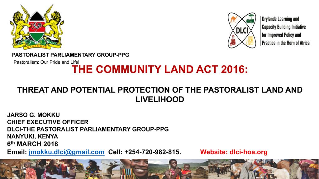 Community Land Act – threats and potential of protecting pastoralist lands & livelihoods