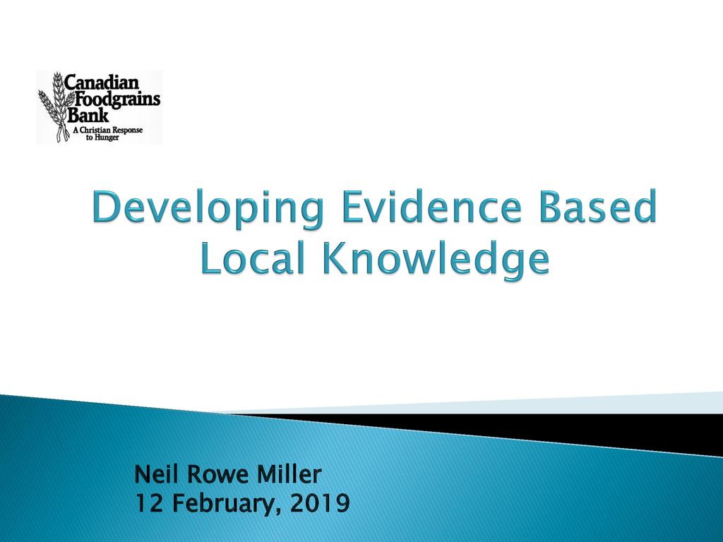 Using Evidence-Based Agricultural Advice