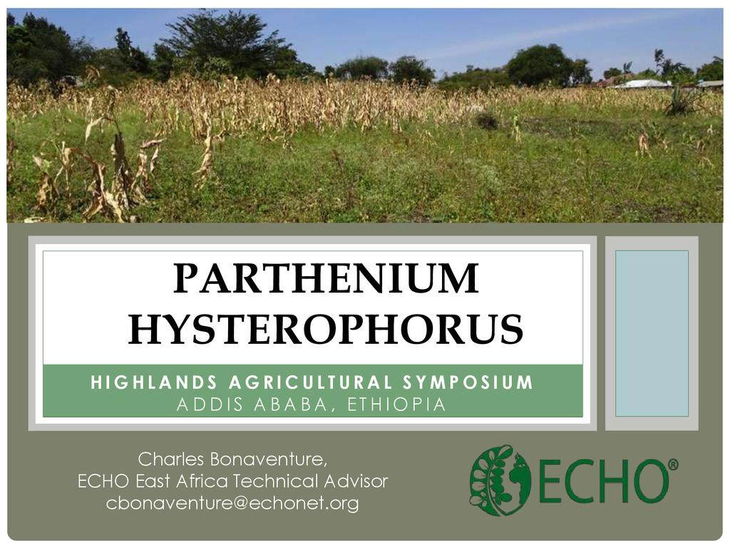 Mobilizing to Combat Parthenium