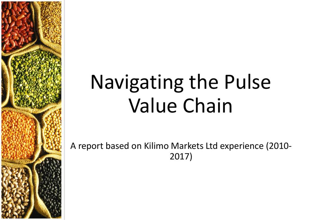 Navigating the Pigeon Pea Value Chain