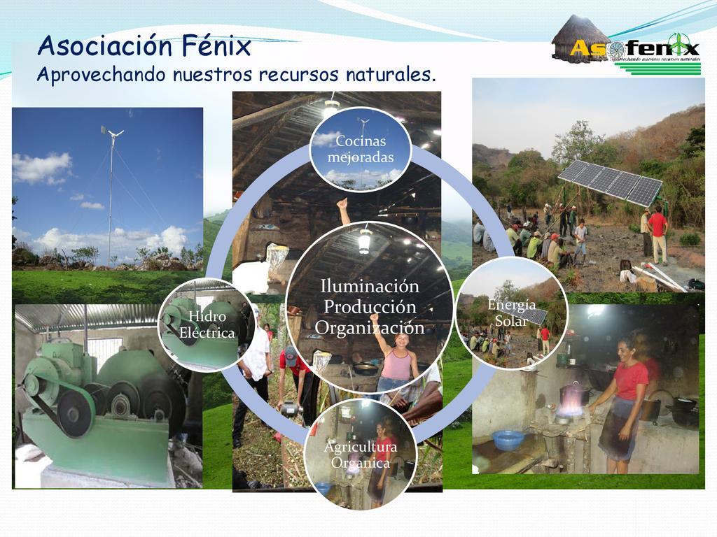 Asofenix - Presentacion de Proyectos