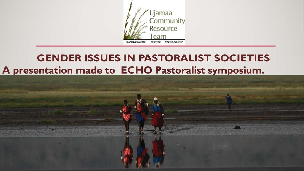 Gender Issues in Pastoralist Societies