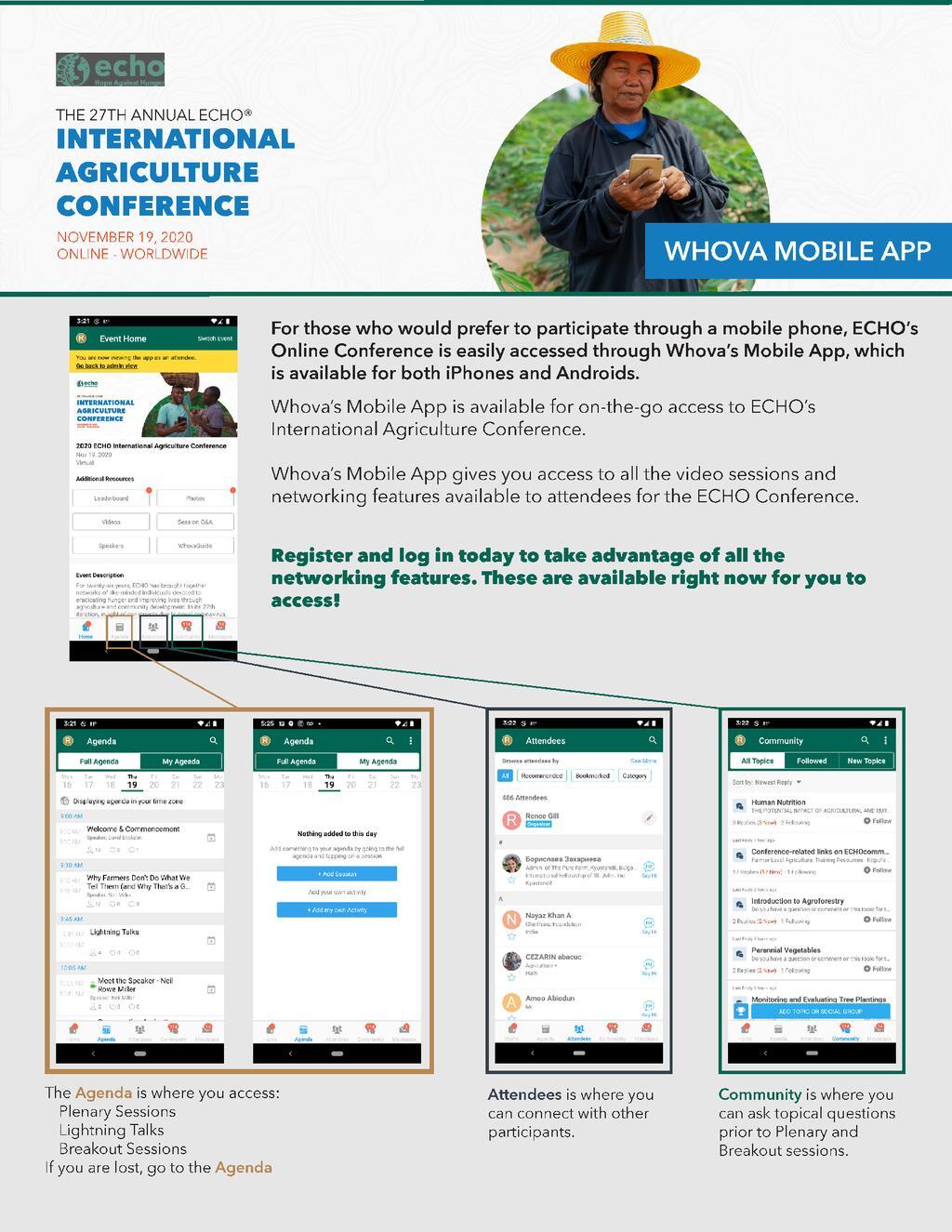 Whova Mobile App