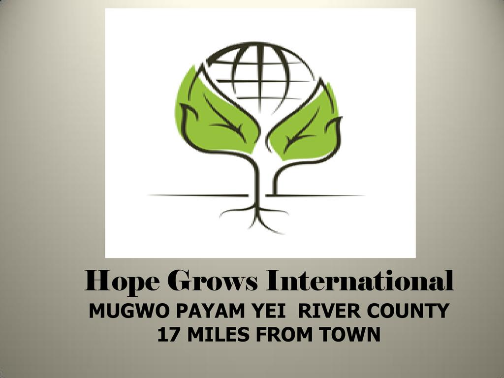 Hope Grows South Sudan