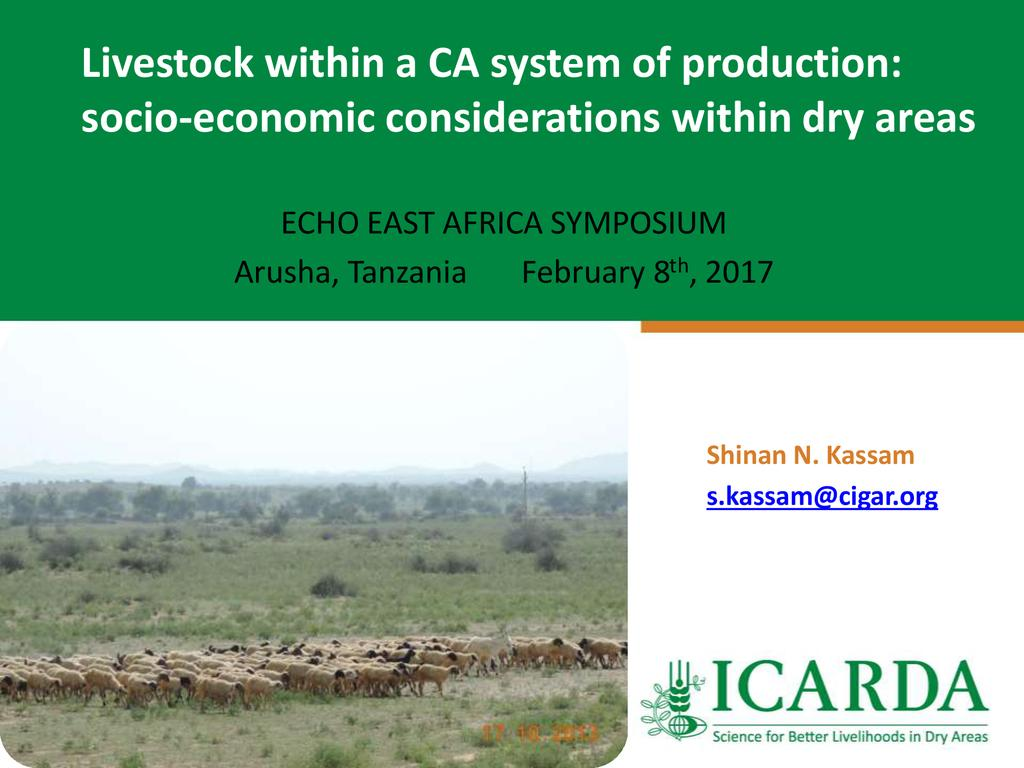 How to Work Livestock into a Conservation Agriculture System