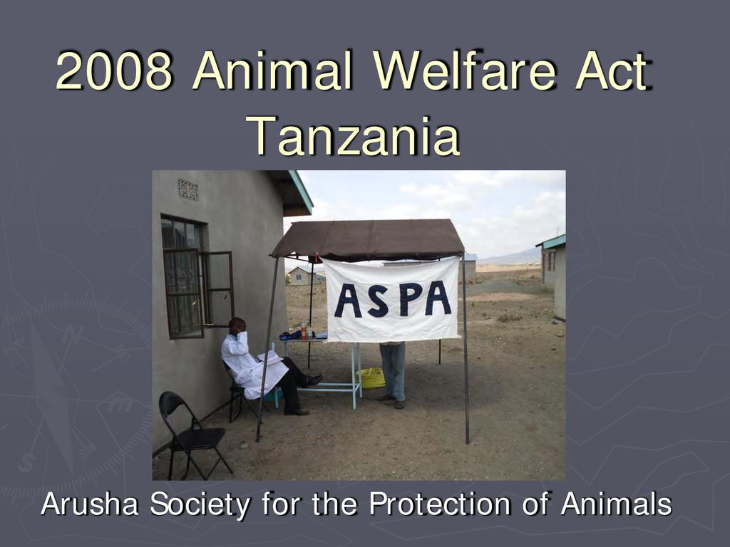 Donkey welfare and donkey friendly harnessing - 2008 Animal Welfare Act