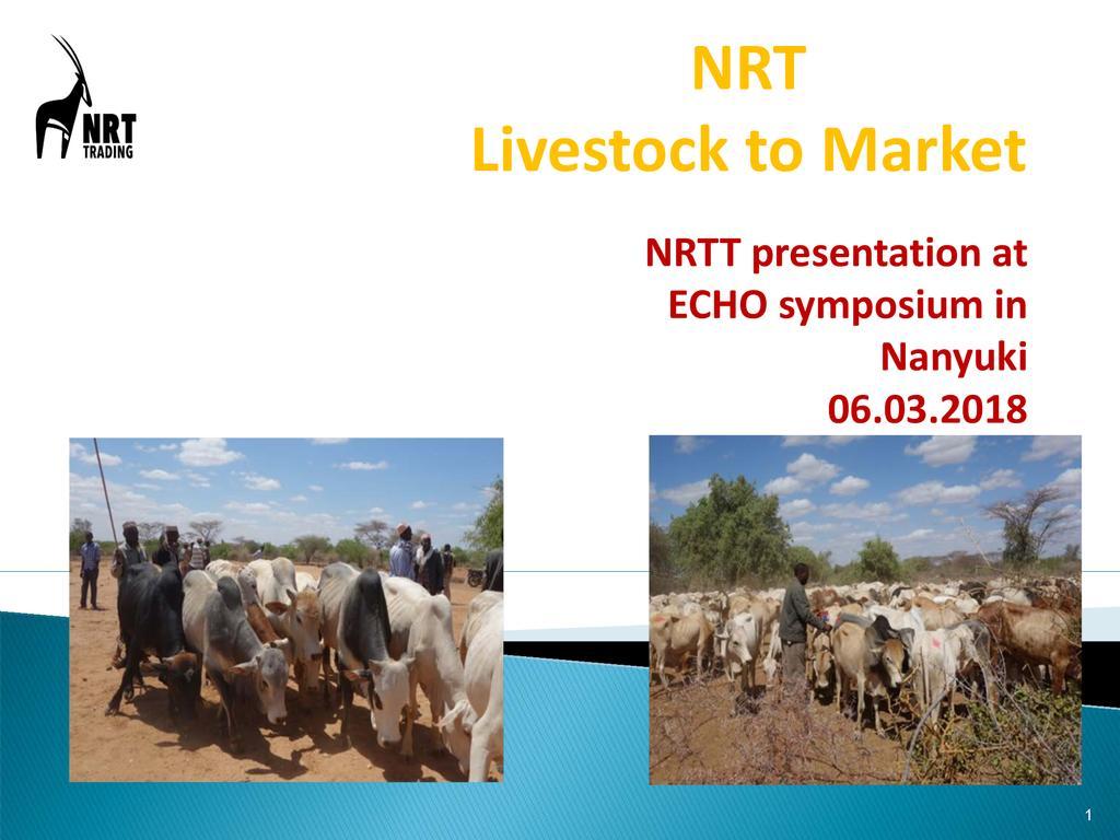 NRT Livestock to Market
