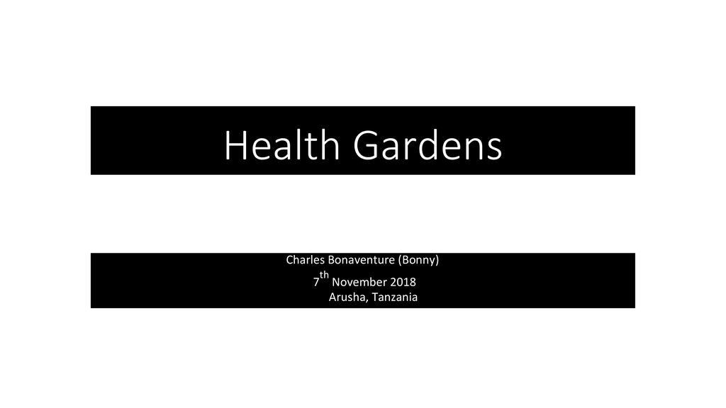 Kitchen gardens which reuse waste water
