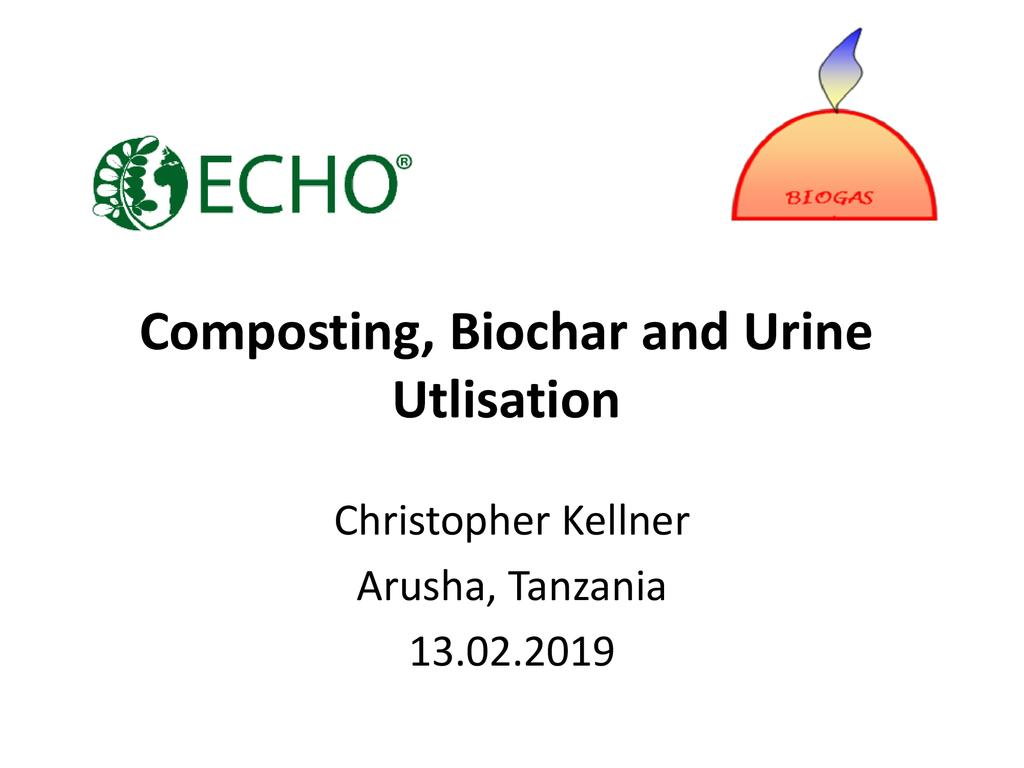 Composting with biochar and urine