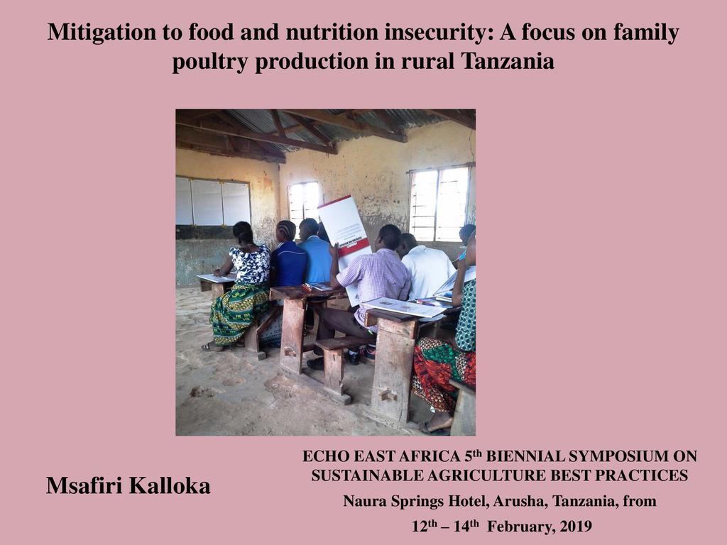 Mitigation of Newcastle Disease for reducing food insecurity: A focus on family poultry production