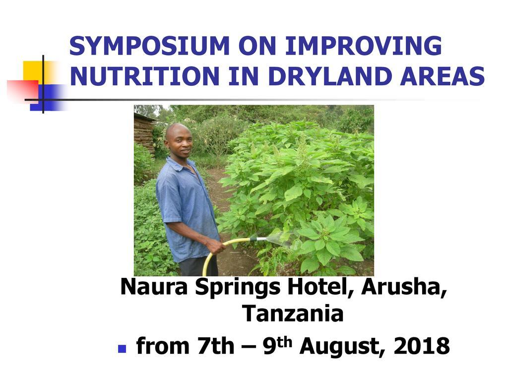 Amaranth farming for community empowerment