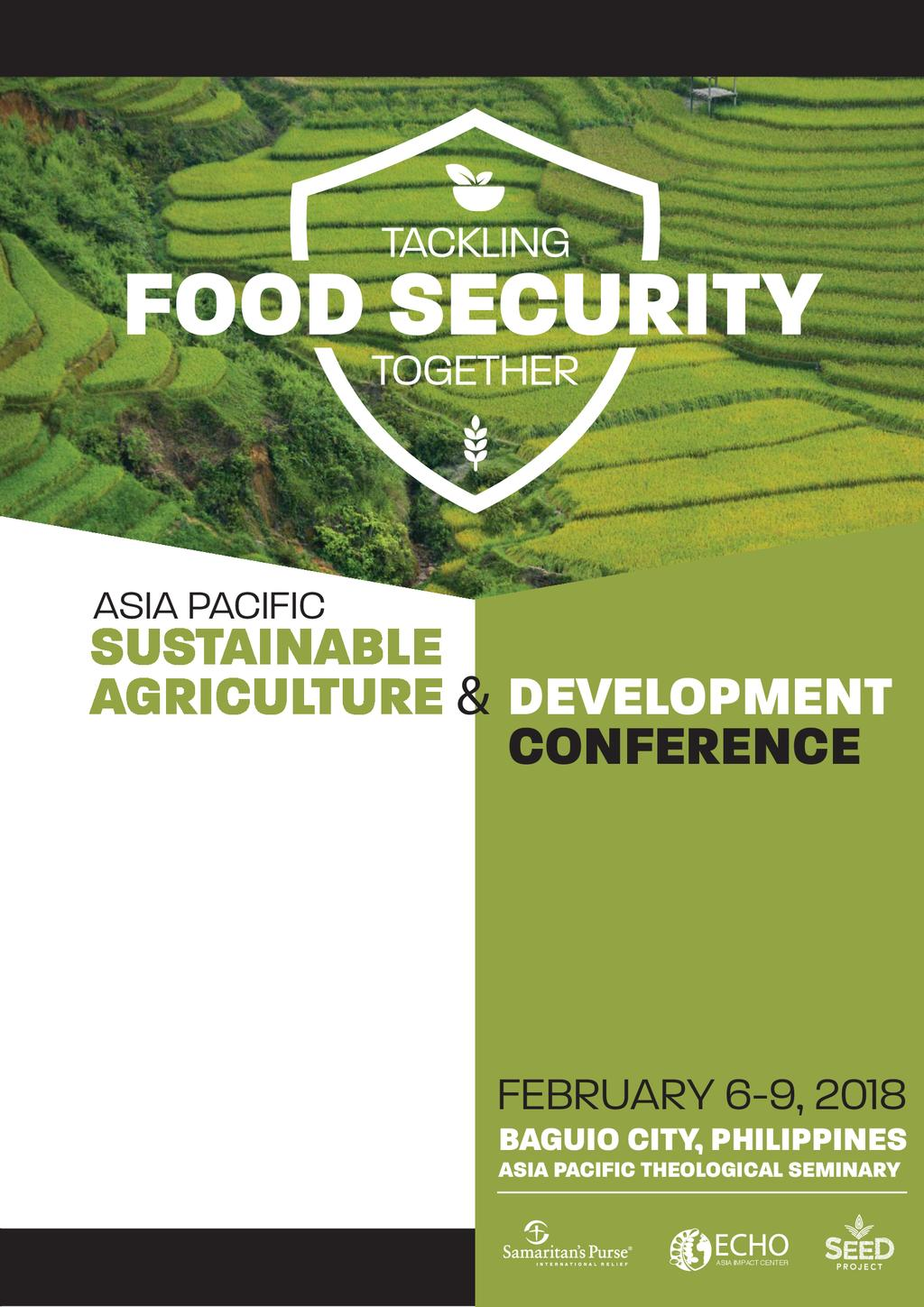 Asia Pacific Sustainable Agriculture & Development Conference booklet