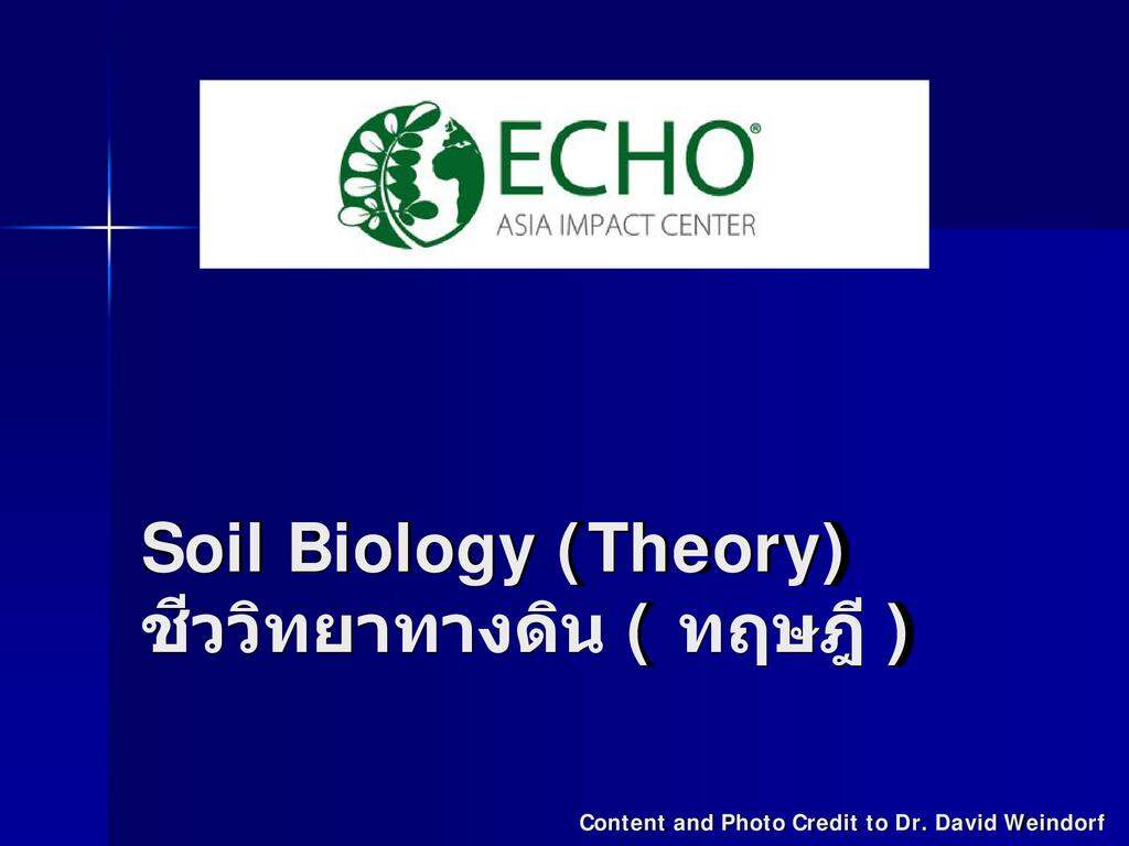 Intro to Soil Science Session 4 slides