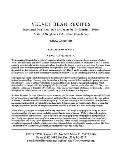Tn 14 velvet bean recipes thumbnail 0