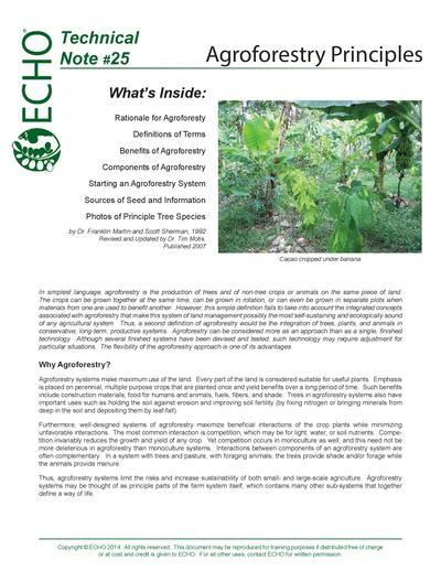 Tn 25 agroforestry principles thumbnail 0