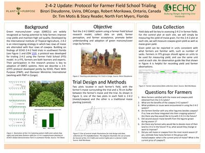 Poster 2 4 2 update protocol for farmer field school trialing  0