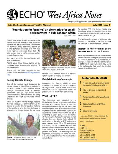 Echo west africa note issue 1  0