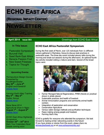 Echo east africa newsletter 2014 04 thumbnail 0