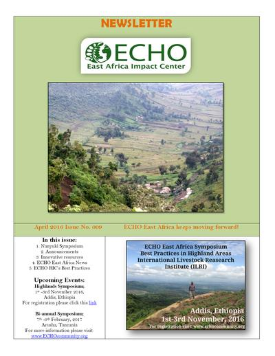 Echo east africa newsletter issue 9  0