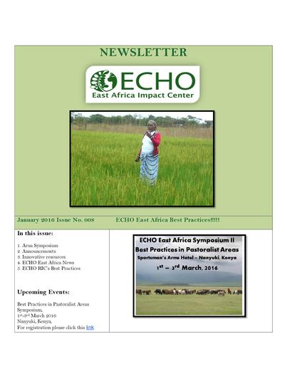 Echo east africa newsletter issue 8  0