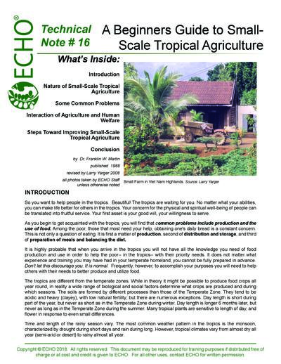 Tn 16 a beginners guide to small scale tropical agriculture  0